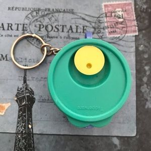 Accessories - Vintage but new Tupperware keychain 90s
